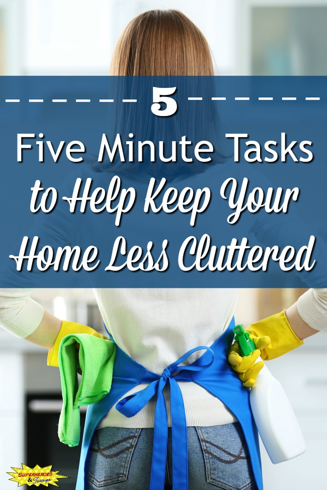 Help Keep Your Home Less Cluttered
