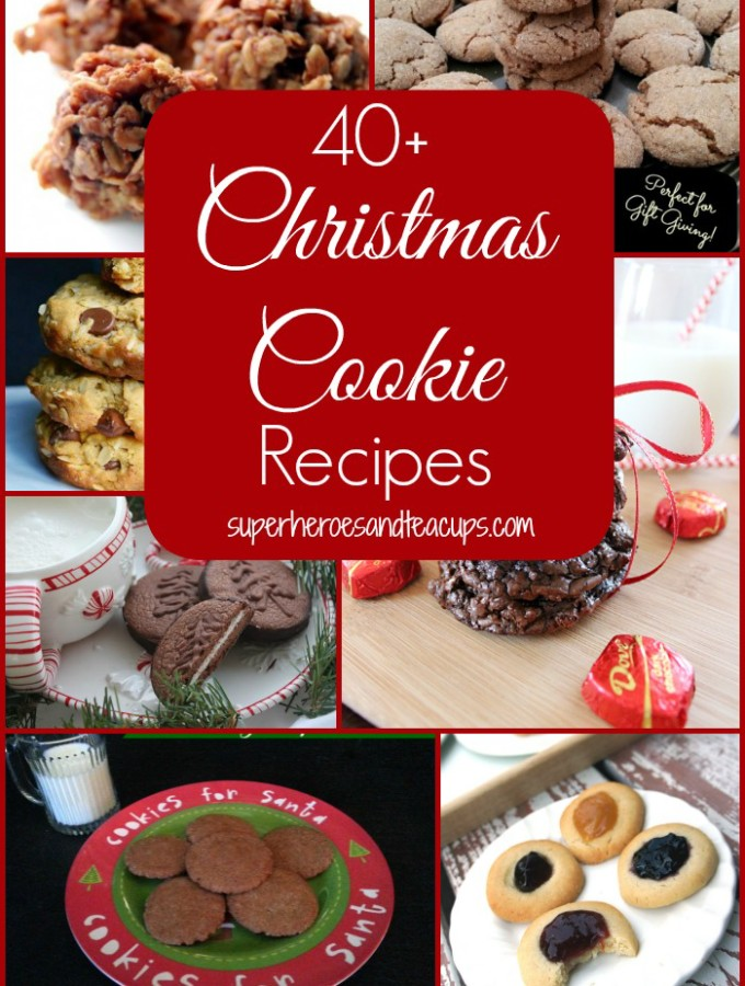 40+ Christmas Cookie Recipes