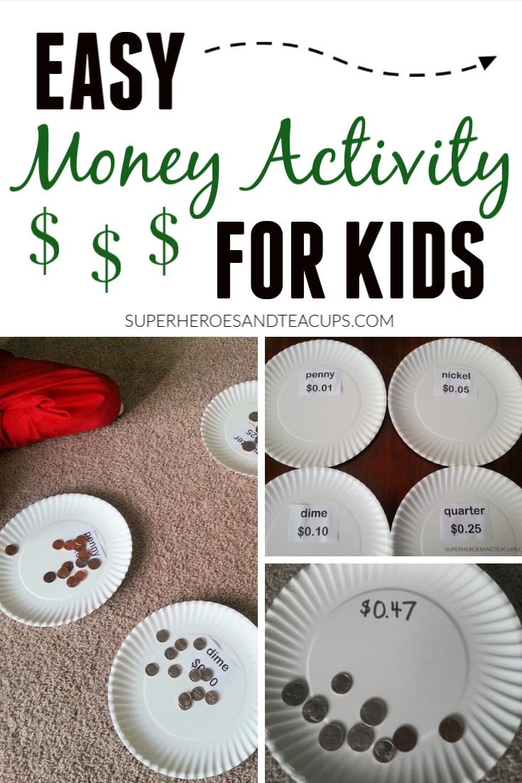 Easy Money Activity for Kids