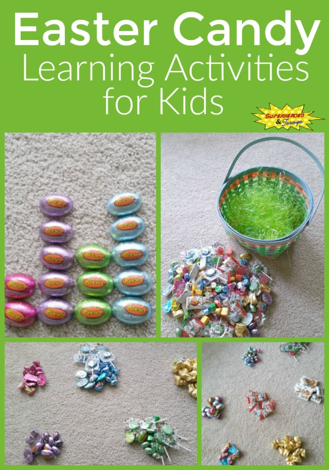 Easter Candy Learning Activities for Kids