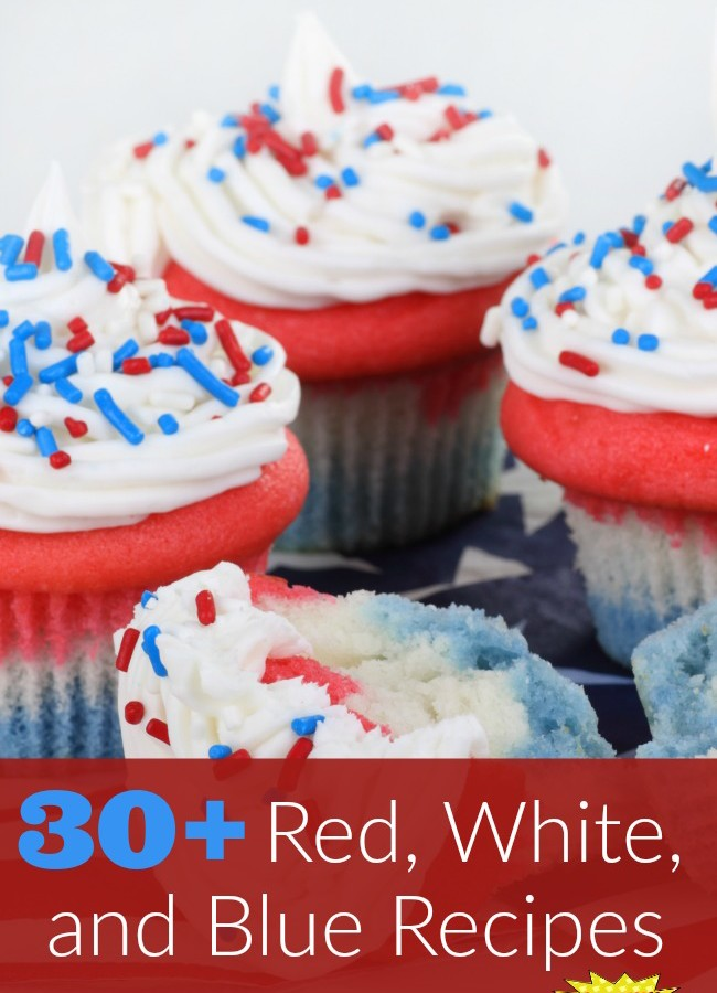 30+ Red, White, and Blue Recipes