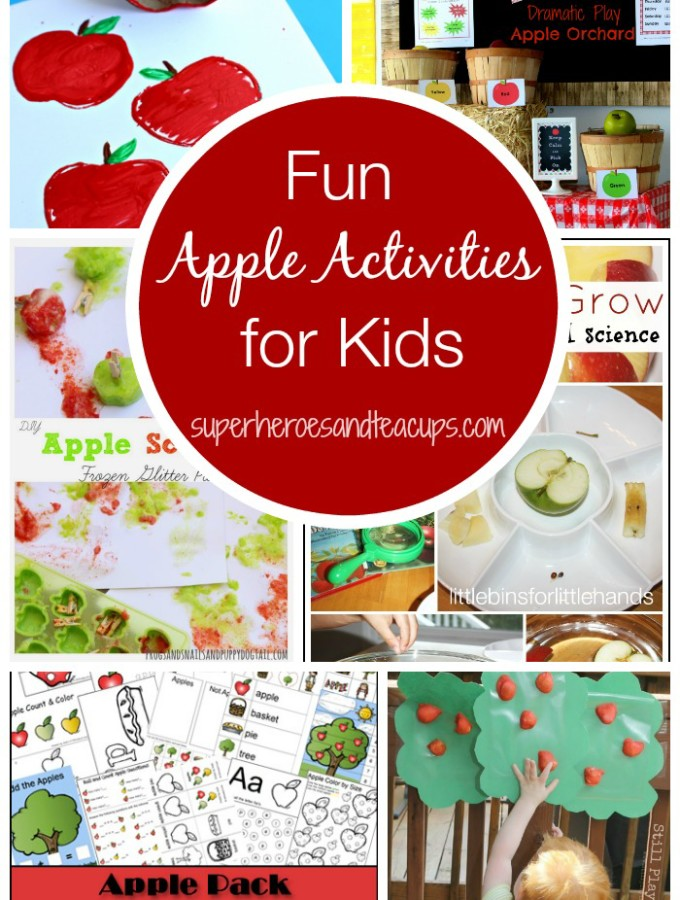 Fun Apple Activities for Kids