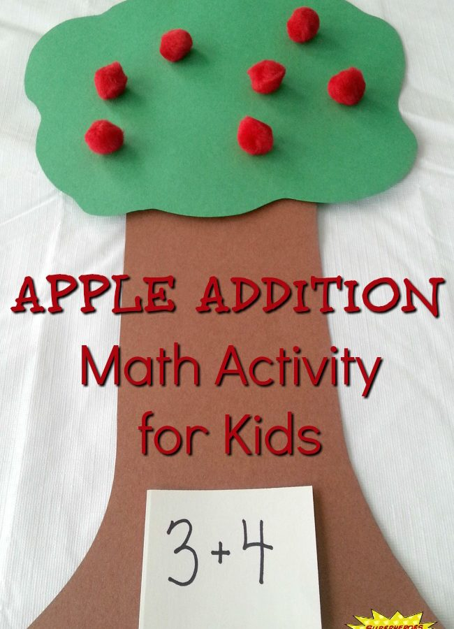 Apple Addition Math Activity