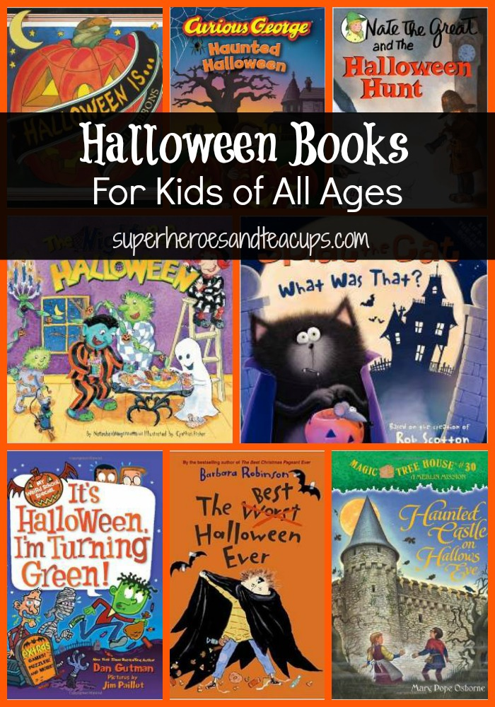 halloween books for kids of all ages - Halloween Kids Books