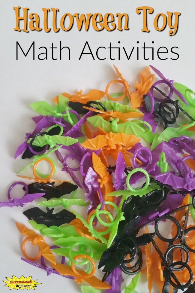 Halloween Toy Math Activities for Kids