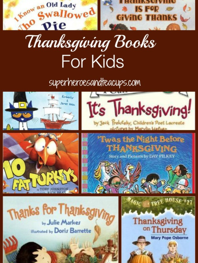 Thanksgiving Books for Kids