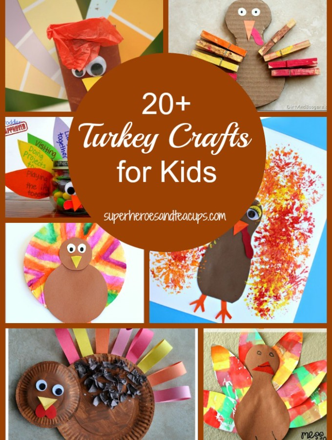 20+ Thanksgiving Turkey Crafts for Kids