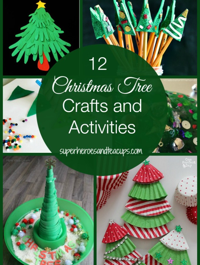 12 Christmas Tree Crafts and Activities