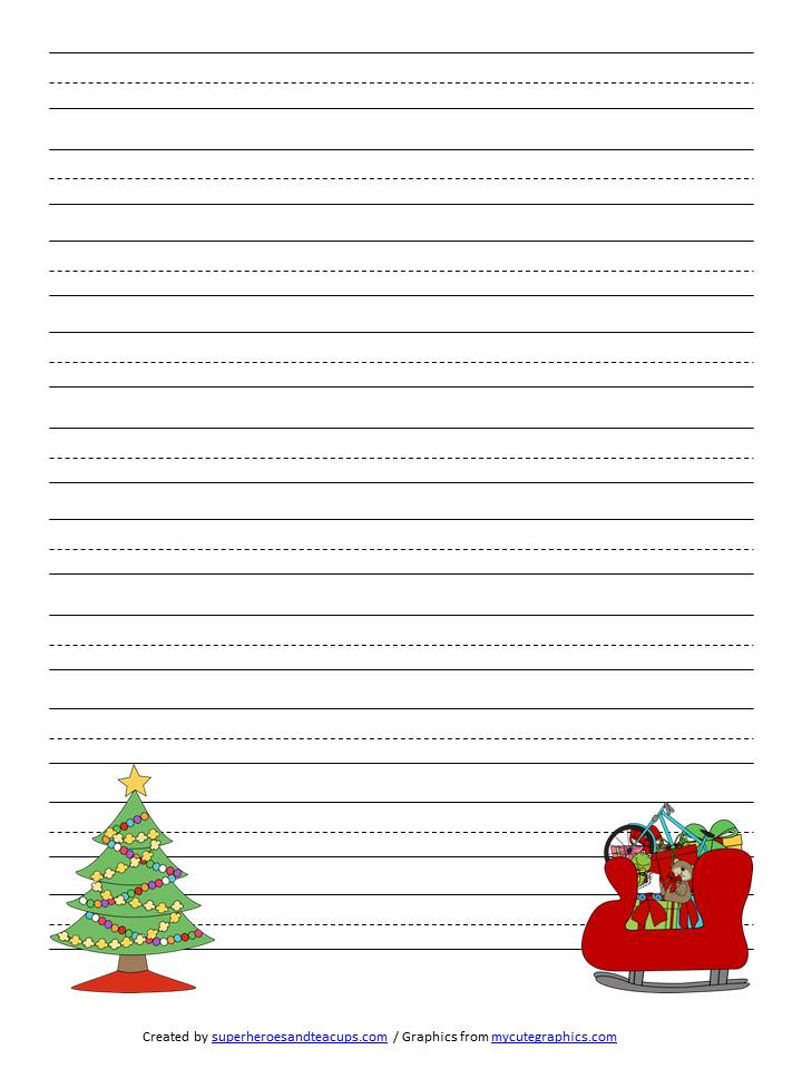 free christmas writing paper If you're not ready to join the member site, sign up for a free account to access thousands of free teaching activities use this 'writing prompts: christmas.