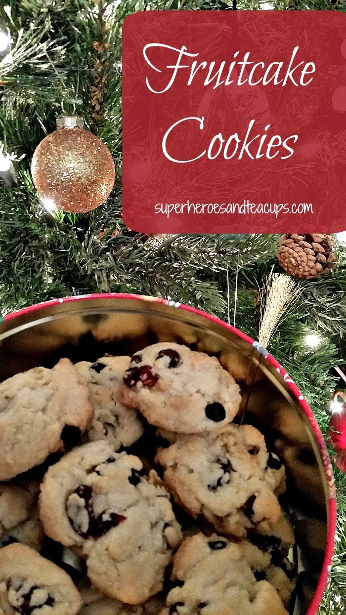 Fruitcake Cookie Recipe