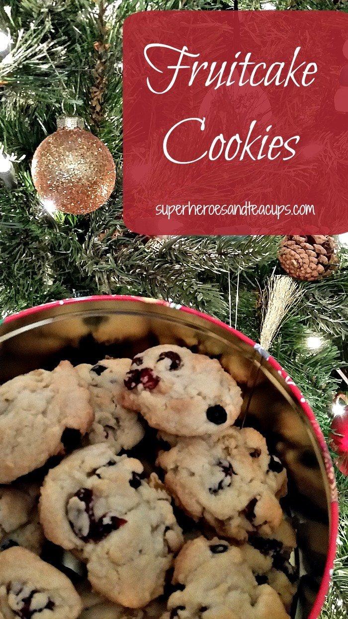 Fruitcake Cookie Recipe
