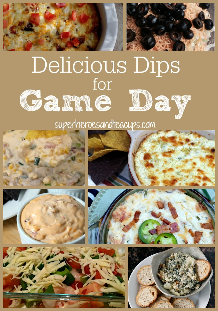 Delicious Dips for Game Day