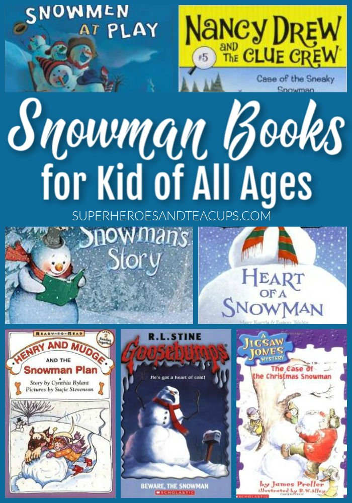 Snowman Books for Kids of All Ages