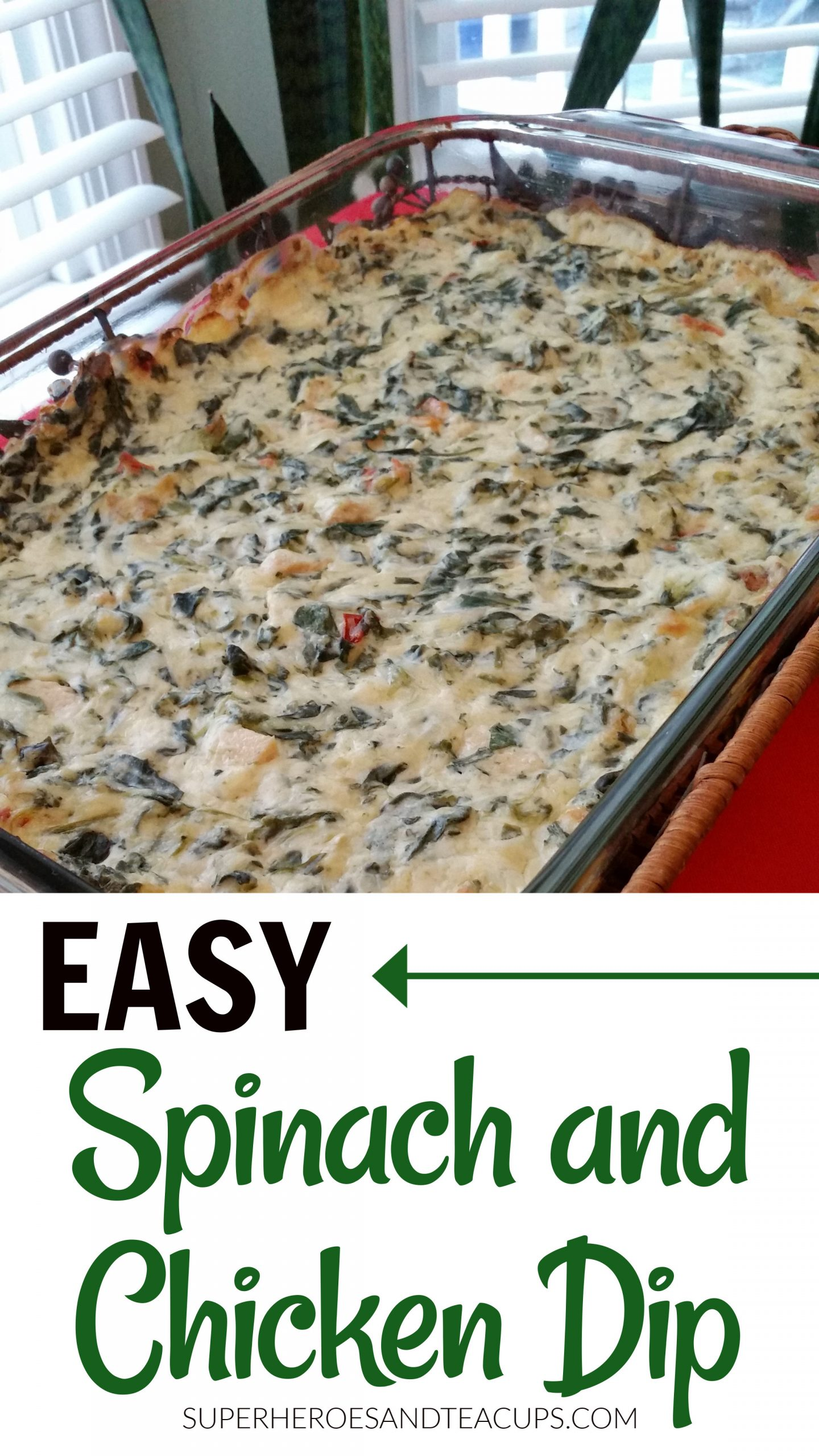 Spinach and Chicken Dip Recipe