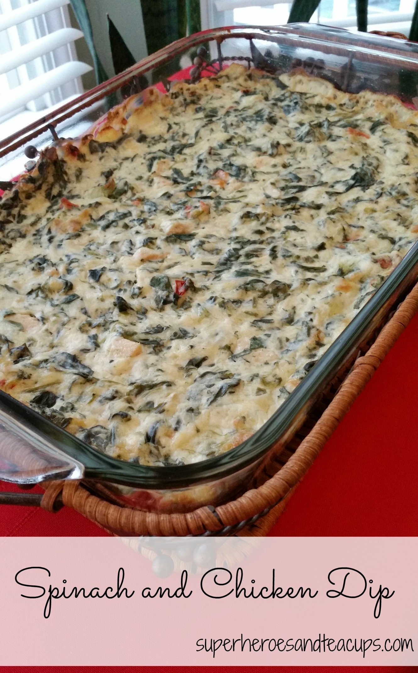 Spinach and Chicken Dip
