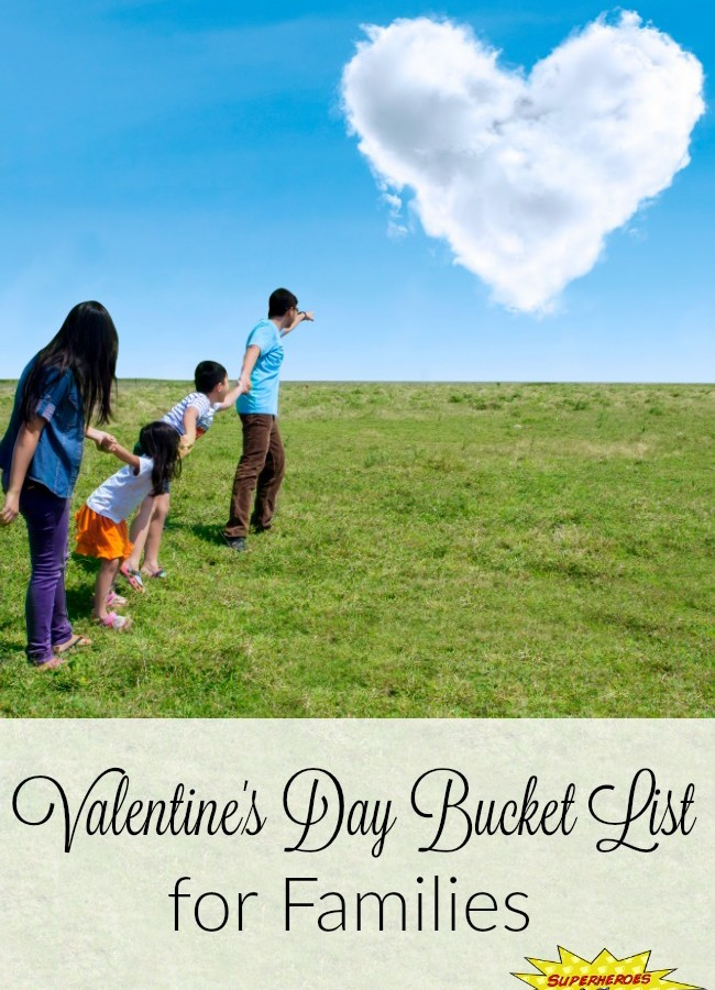 Valentine's Day Bucket List for Families