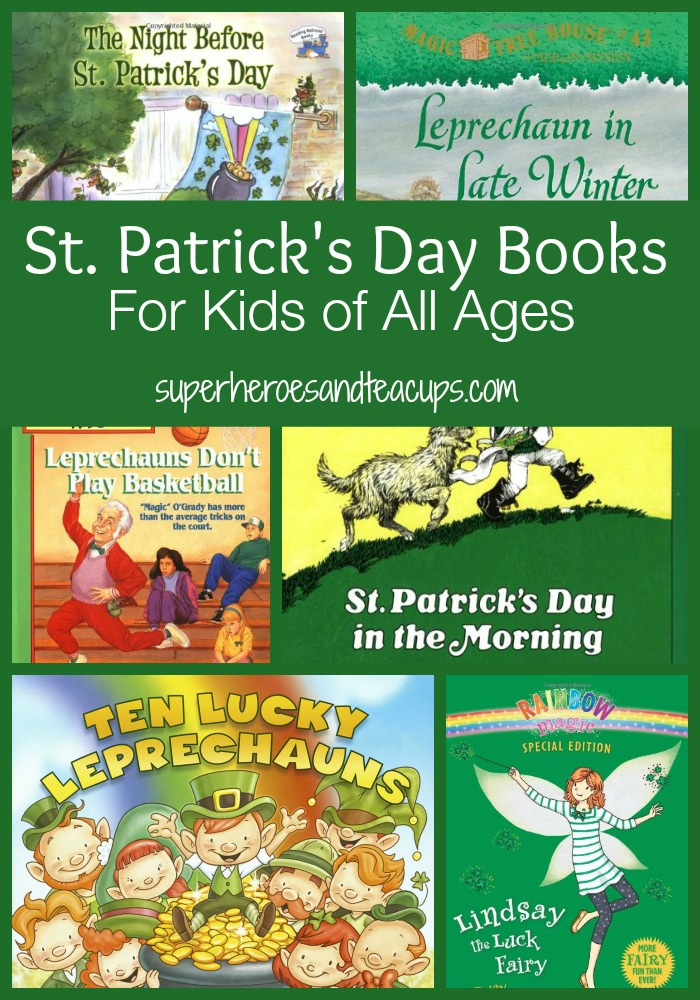 St. Patrick's Day Books for Kids of All Ages
