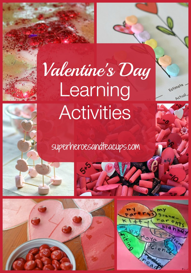Valentines Day Learning Activities