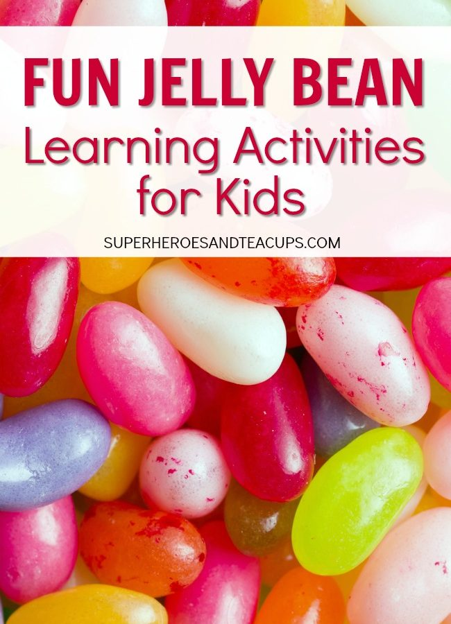 Fun Jelly Bean Learning Activities