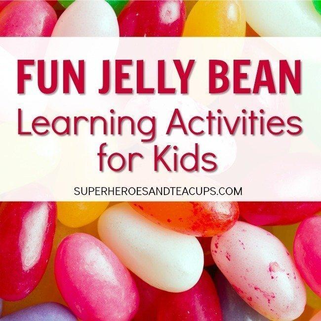 Fun Jelly Bean Learning Activities