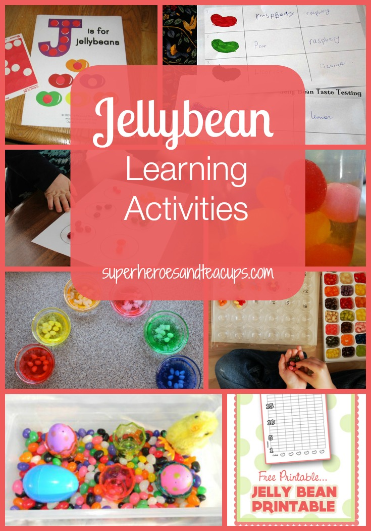Jellybean Learning Activities