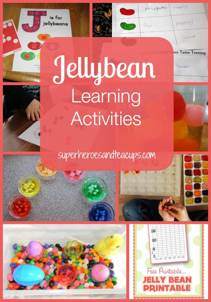 Jellybean Learning Activities