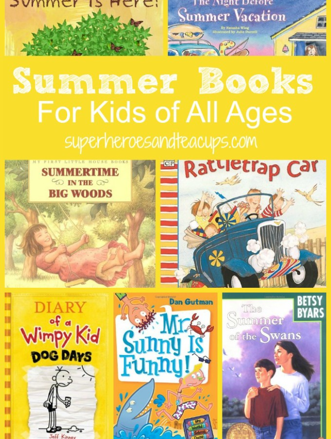 Summer Books for Kids of All Ages