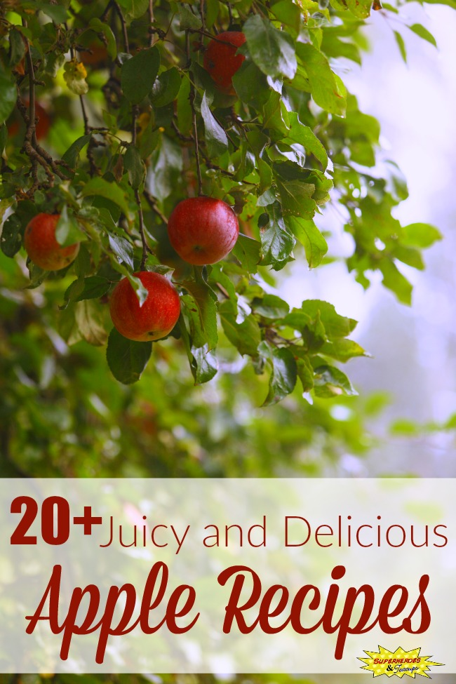 20+ Juicy and Delicious Apple Recipes