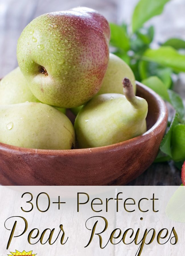 30+ Perfect Pear Recipes