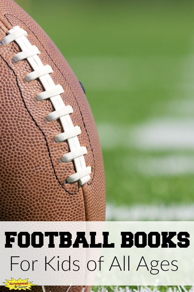 Football Books for Kids of All Ages