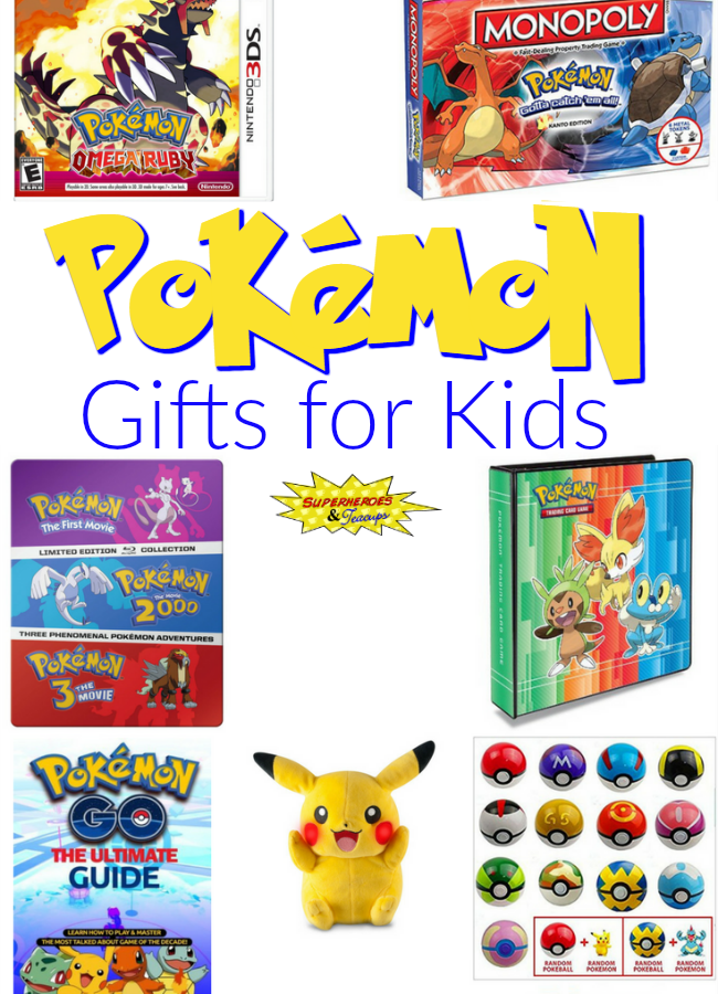 20+ Fun Pokemon Gifts for Kids
