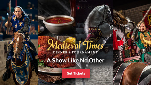Medieval Times Dinner and Tournament Offer