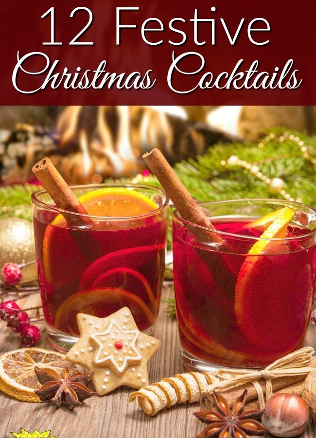 12 Festive Christmas Cocktails