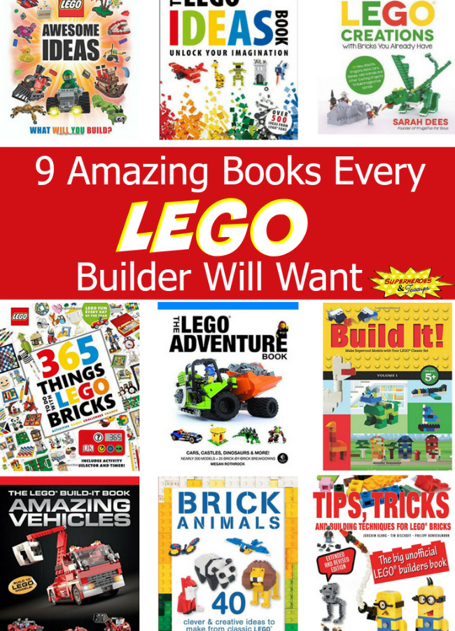 9 Amazing Books Every LEGO Builder Will Want