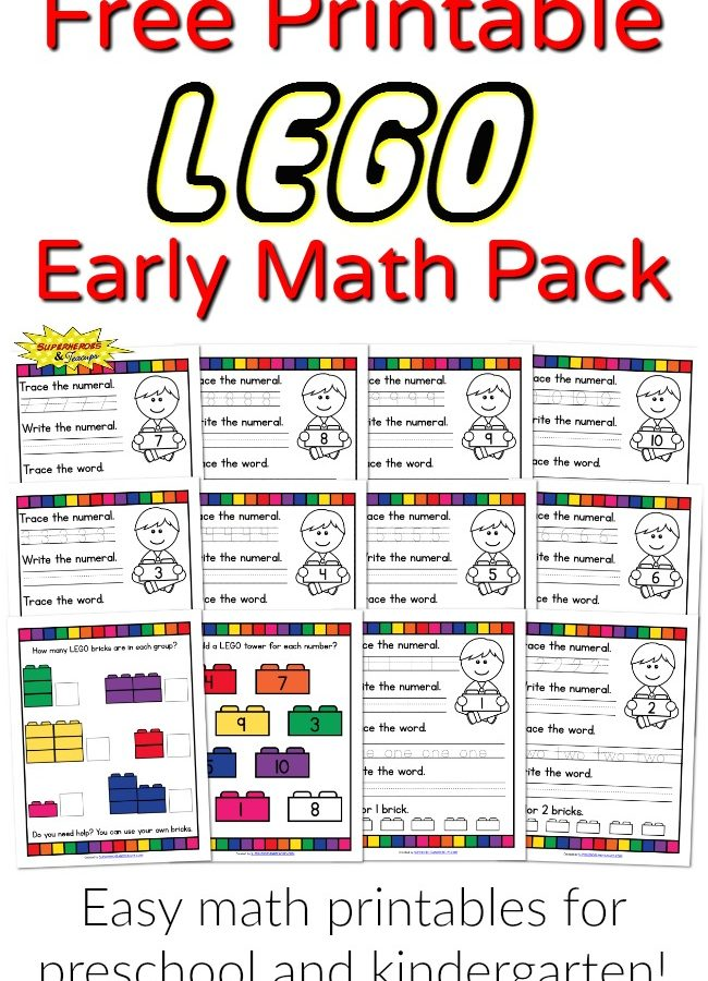 LEGO Early Math Pack