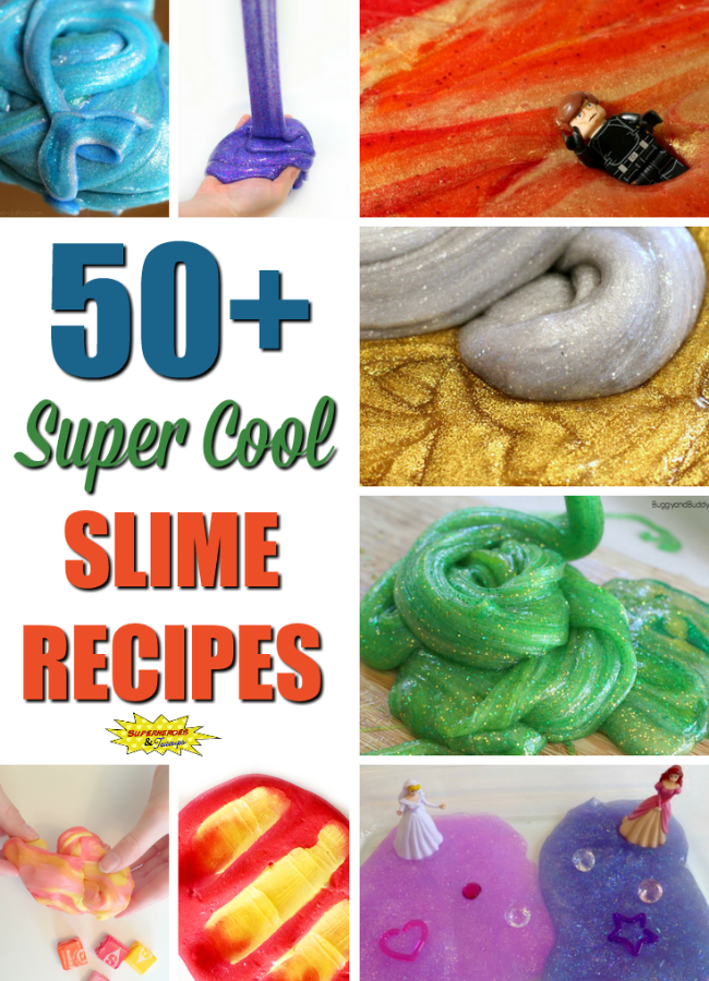 50+ Super Cool Slime Recipes