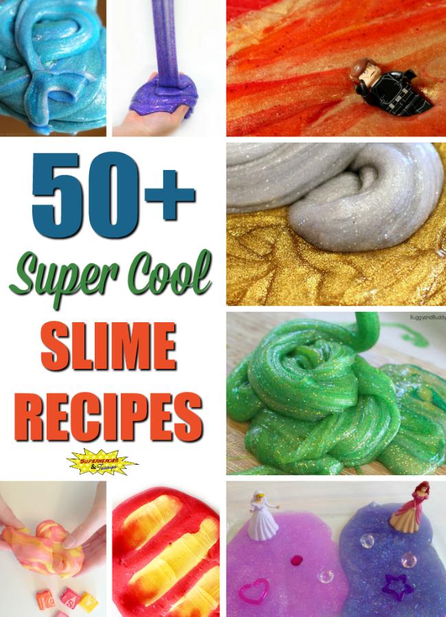 50+ Super Cool Slime Recipes