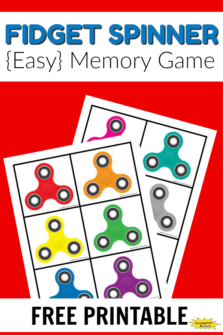 Fidget Spinner Memory Game