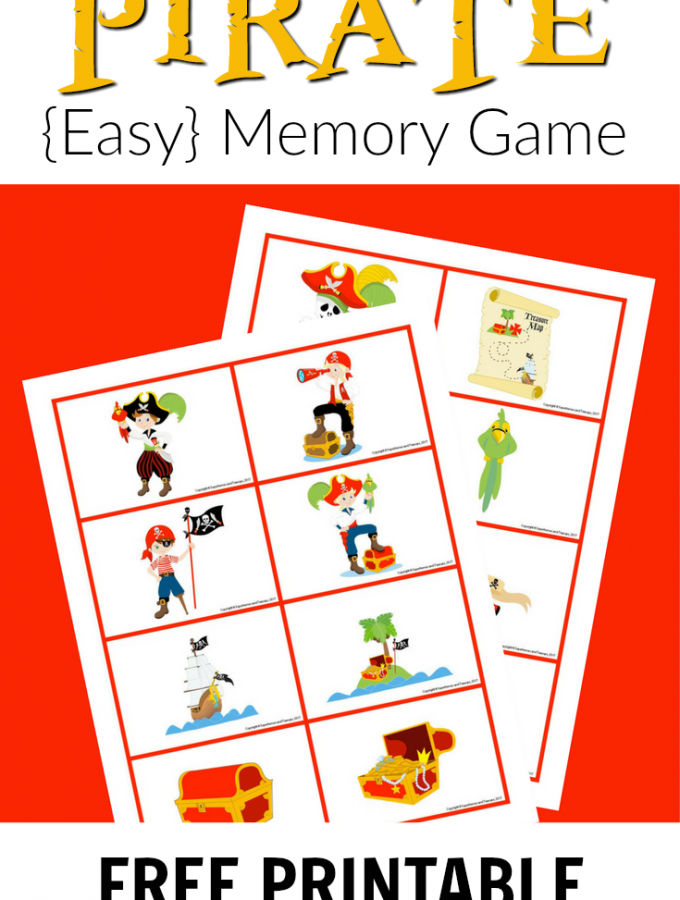 Pirate Memory Game