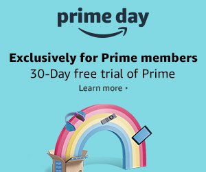 Take advantage of Amazon Prime Day with a 30 day free trial.