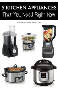 5 Kitchen Appliances That You Need Right Now