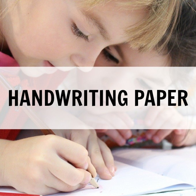Free Printable Handwriting Paper