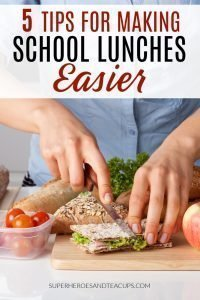 5 Tips for Making School Lunches Easier
