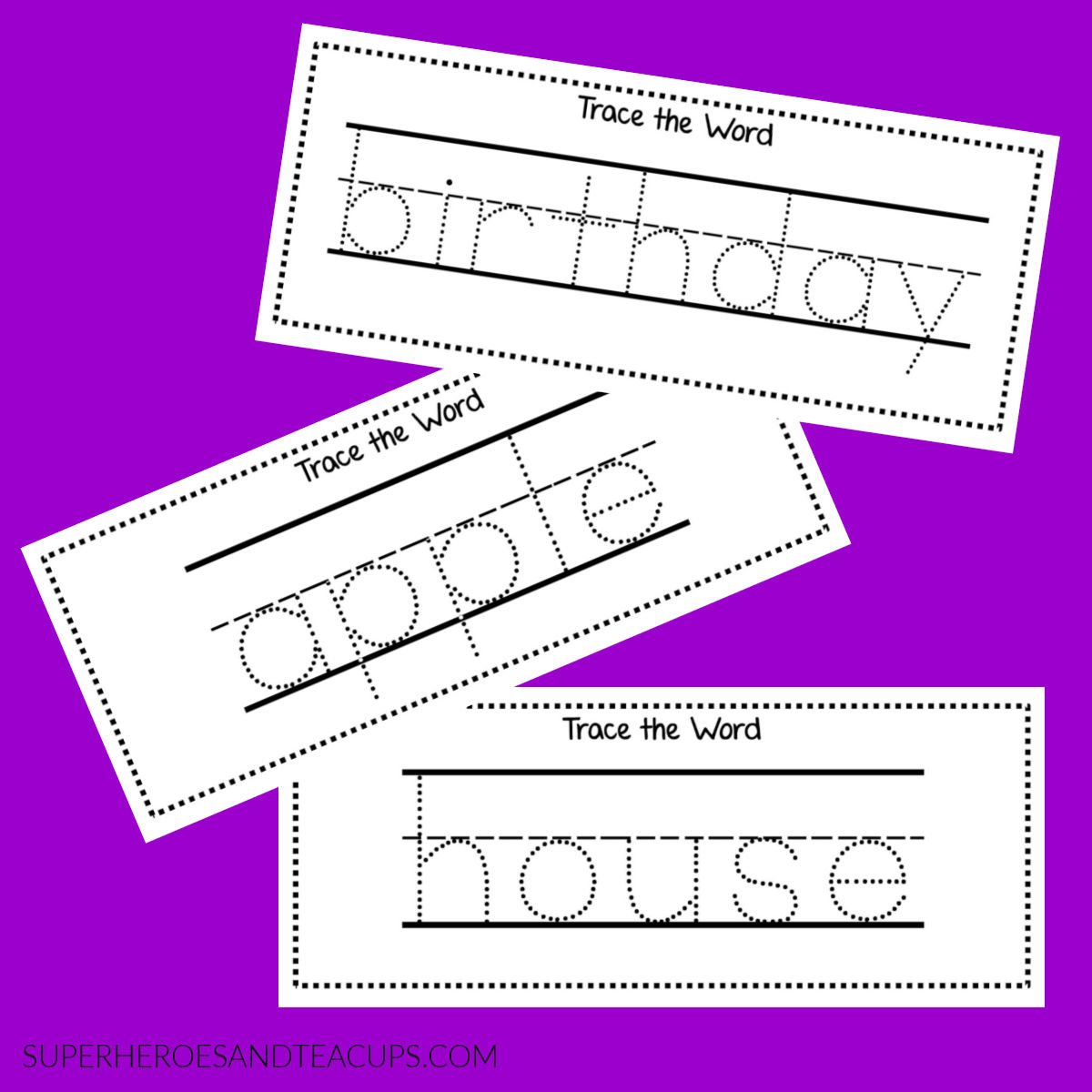 Sight Word Activities for Dolch Nouns