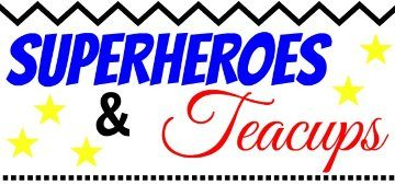 Superheroes and Teacups logo