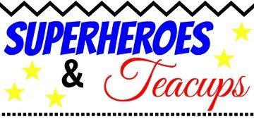 Superheroes and Teacups logo