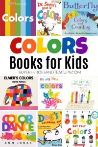 Fun books for kids to teach them about colors.