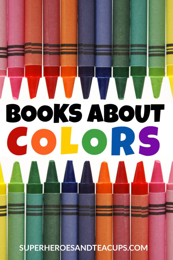 Books about colors for kids.